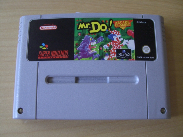 SNES Mr. Do EUR
