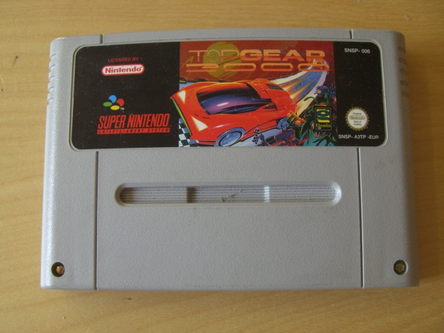 SNES Top Gear 3000 EUR