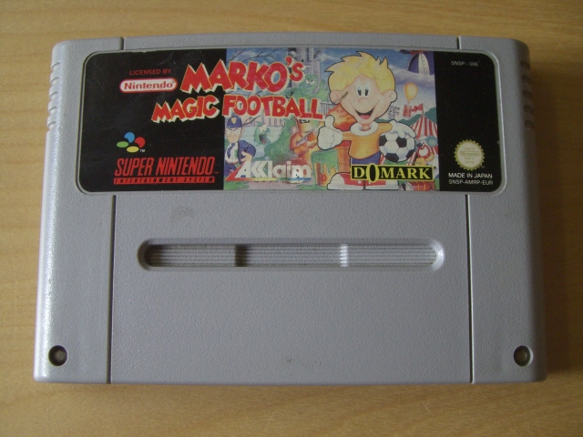 SNES Marko's Magic Football EUR