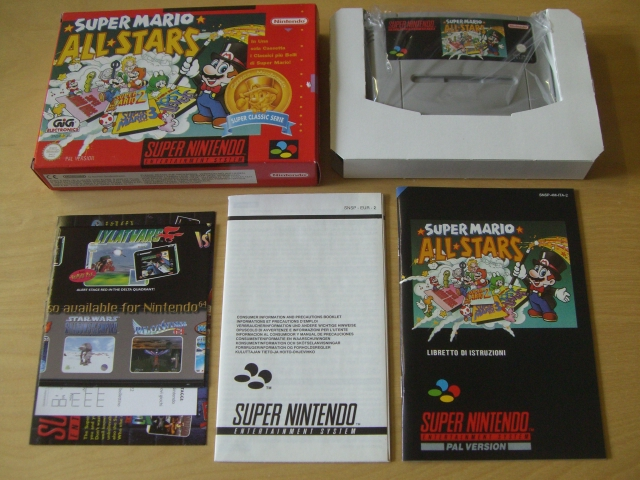 SNES Super Mario All Stars NITA