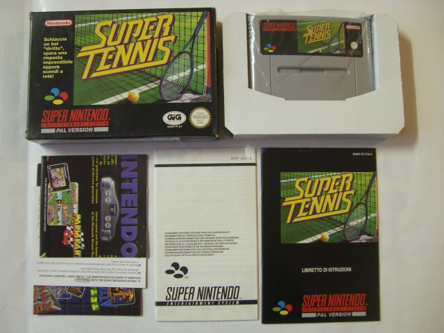 SNES Super Tennis ITA