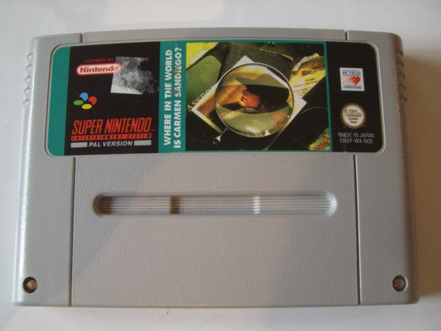 SNES Where in the World is Carmen Sandiego NOE