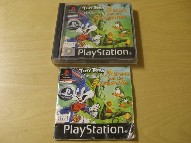 PS1 Tiny Toon Adventures Buster and the Beanstalk