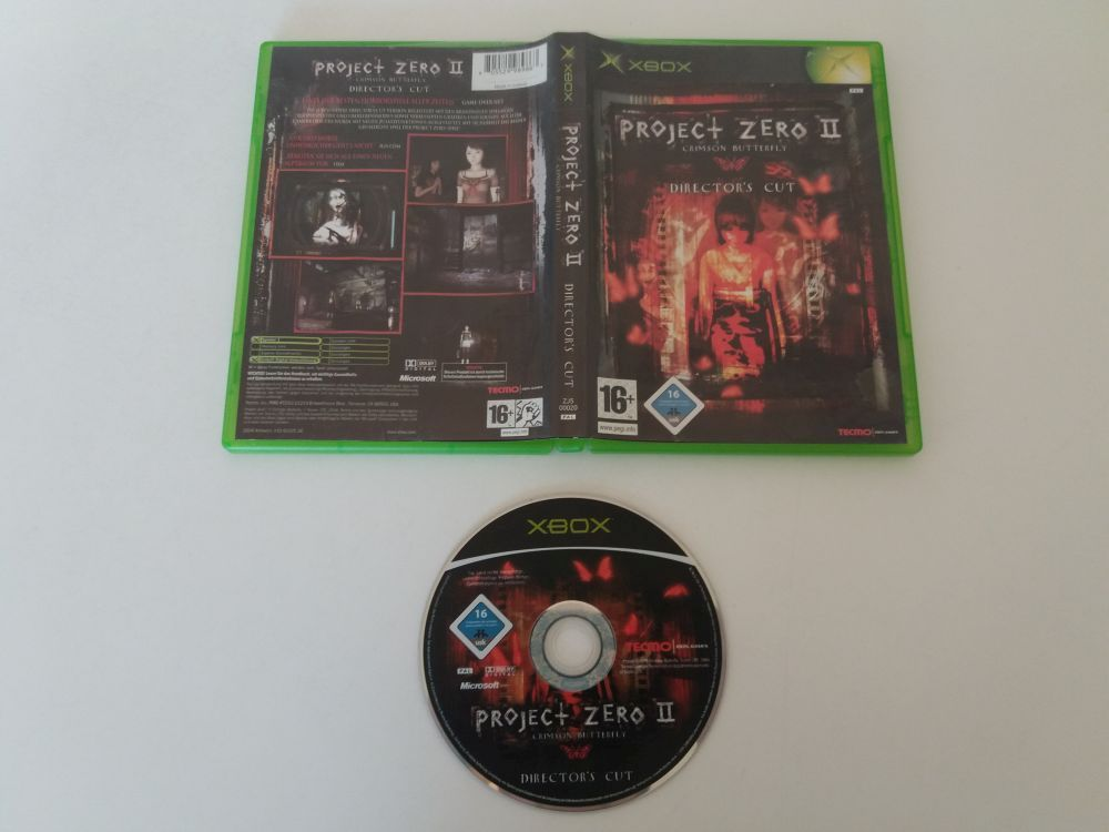 Xbox Project Zero II Crimson Butterfly Director\'s Cut [41398 ...
