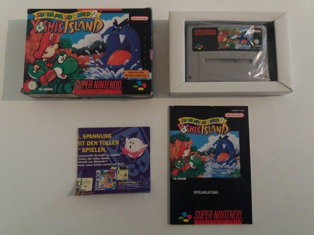 SNES Super Mario World 2 Yoshi's Island NOE [42429] - €49 99