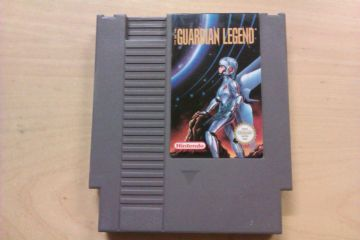 NES The Guardian Legend NOE