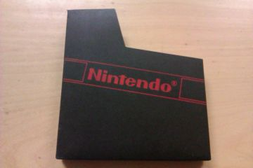 NES Cartridge Nintendo Sleeve