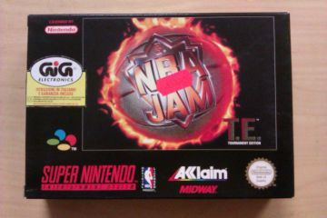 SNES NBA Jam Tournament Edition EUR