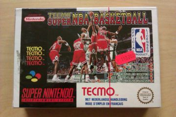 SNES Tecmo Super NBA Basketball FAH