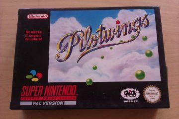 SNES Pilotwings ITA