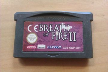 GBA Breath of Fire 2 EUR