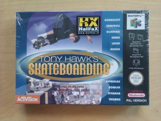 N64 Tony Hawk's Skateboarding ITA