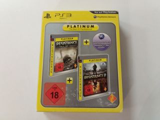PS3 Resistance Fall of Man + Resistance 2