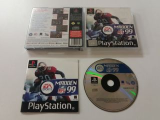 PS1 Madden NFL 99
