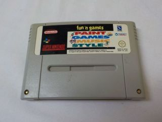SNES Fun'n Games UKV