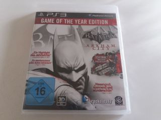 PS3 Batman Arkham City Game of the Year Edition