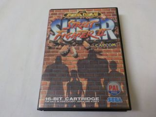 MD Super Street Fighter 2 Asia