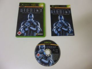 Xbox The Chronicles of Riddick Escape from Butcherbay