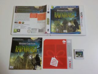 3DS Mystery Case Files Ravenhearst