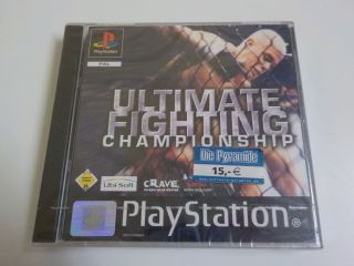 PS1 Ultimate Fighting Championship