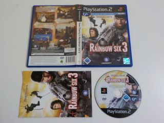 PS2 Tom Clancy's Rainbow Six 3