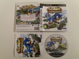 PS3 Sonic Generations