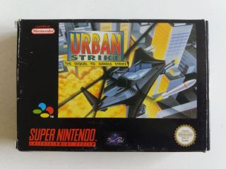 SNES Urban Strike EUR