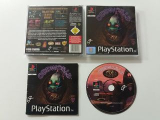 PS1 Oddworld Abe's Oddysee
