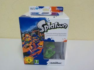 Wii U Splatoon Limited Edition