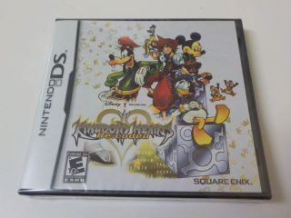 DS Kingdom Hearts Re:coded