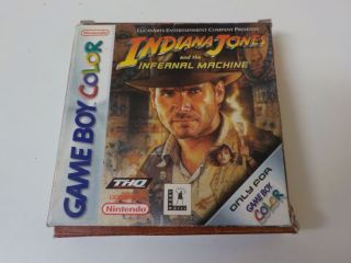 GBC Indiana Jones and the Infernal Machine EUR