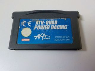 GBA ATV Quad Power Racing EUR