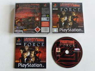 PS1 Fighting Force