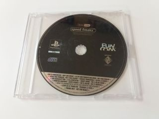 PS1 Speed Freaks Promo version