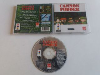 3DO Cannon Fodder