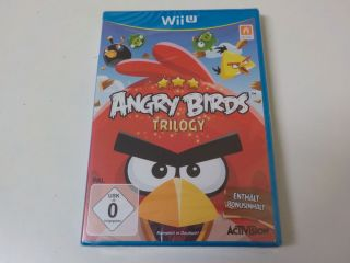 Wii U Angry Birds Trilogy GER