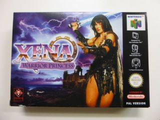 N64 Xena Warrior Princess EUR