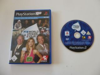 PS2 World Poker Tour
