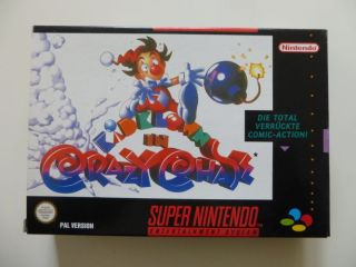 SNES Kid Klown in Crazy Chase NOE