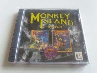 PC Monkey Island Special I & II