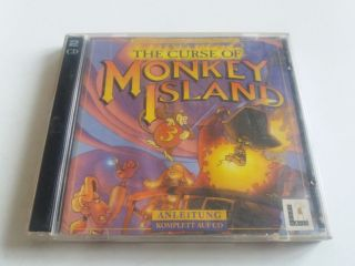 PC The Curse of Monkey Island