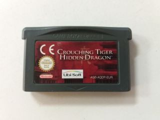 GBA Crouching Tiger Hidden Dragon EUR