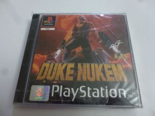 PS1 Duke Nukem