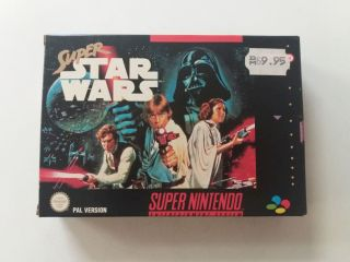 SNES Super Star Wars NNOE