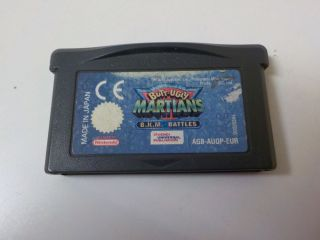 GBA Butt-Ugly Martians EUR