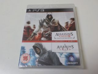 PS3 Assassin's Creed I & II