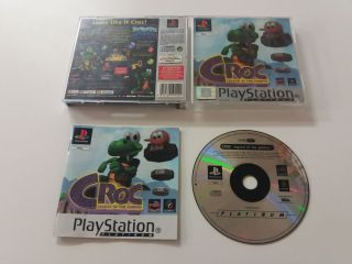 PS1 Croc Legend of the Gobbos