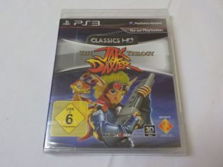 PS3 The Jak and Daxter Trilogy