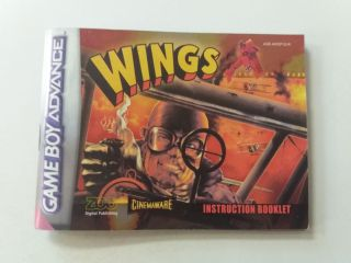 GBA Wings EUR Manual