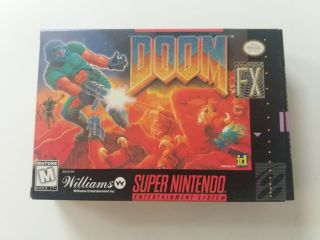 SNES Doom USA